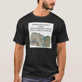 Camiseta Chiste del jugador de bolos de los BOLOS