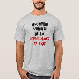 Camiseta Chiste del zombi del planificador de la cita