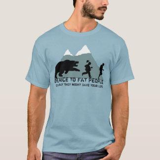Camiseta Chiste gordo ofensivo