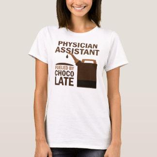 Camiseta Chocolate (divertido) del ayudante del médico