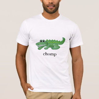 Camiseta chomp el cocodrilo