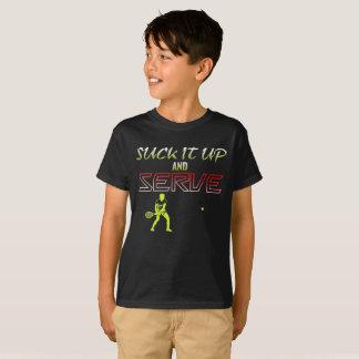 Camiseta Chúpelo para arriba y sirva el tenis