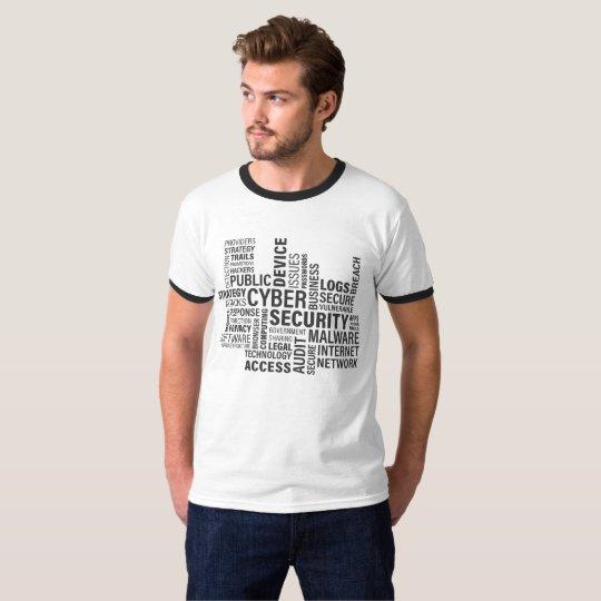 Camiseta Ciber Security Internet