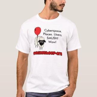 Camiseta Ciberespacio. Lugares. Usuarios. SM…