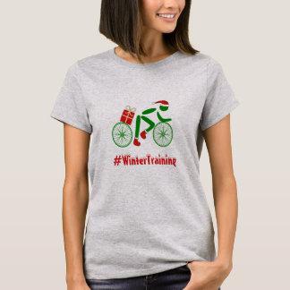 Camiseta Ciclista de encargo de Navidad del texto del