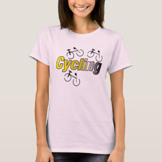 Camiseta Ciclo con la bicicleta