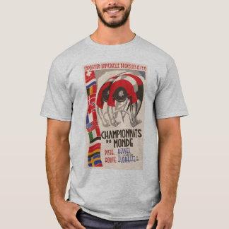 Camiseta Ciclo retro del diseño del art déco de los años 30