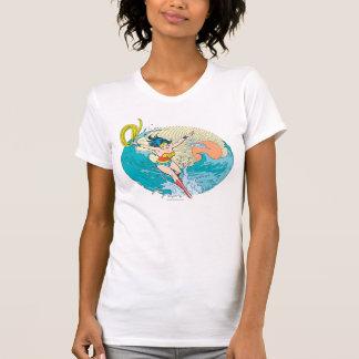 Camiseta Cielo del océano de la Mujer Maravilla