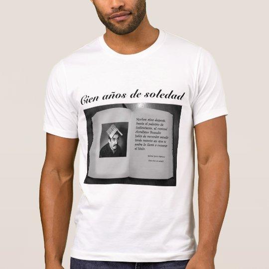 Camiseta cien años de soledad
