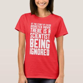 Camiseta científico que es ignorado