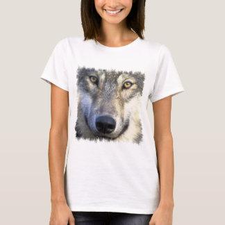 Camiseta Cierre de la cara del lobo para arriba
