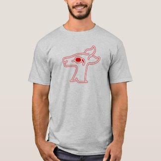 Camiseta Ciervo común de neón