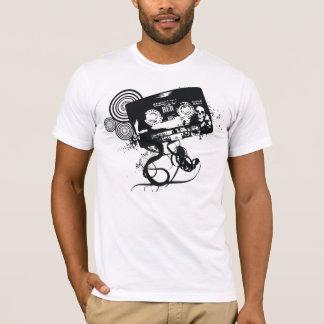 Camiseta Cinta de audio del cráneo del Grunge