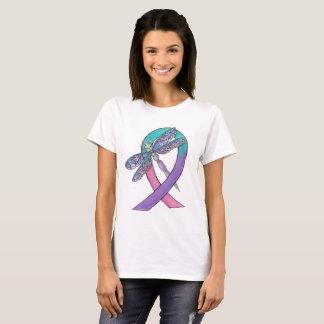 Camiseta Cinta del cáncer de tiroides