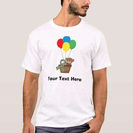 Camiseta Cinta personalizada del pedazo del rompecabezas