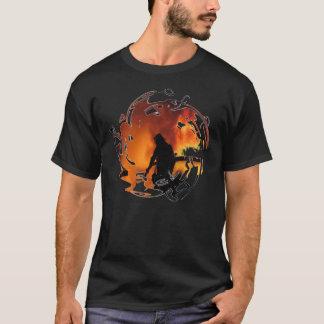 Camiseta Círculo de llamas