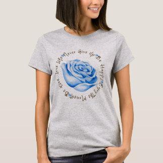 Camiseta Círculo inspirado de la afirmación de la cita