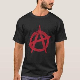 """Camiseta """"circunde"""" un símbolo de la anarquía"""