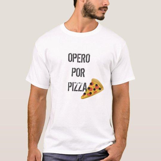 Camiseta Cirujía a cambio de Pizza