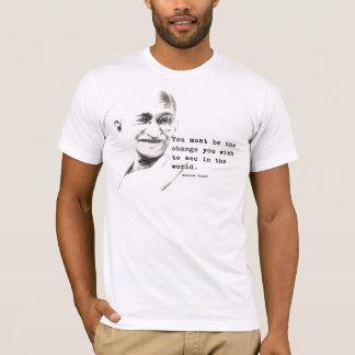 Camiseta Cita de Gandhi