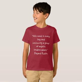 Camiseta Cita de los niños T Rustin