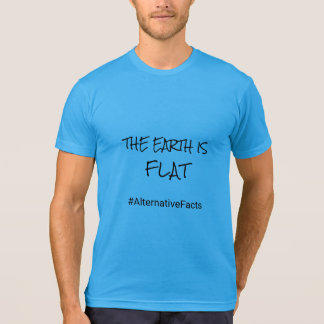 Camiseta Cita divertida de la tierra plana alternativa de