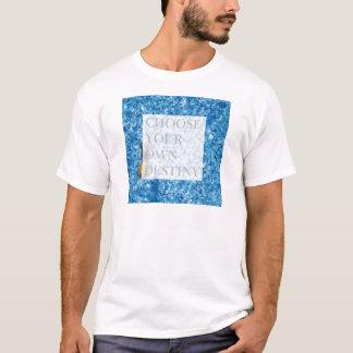 Camiseta Cita hermosa del día de fiesta elegante