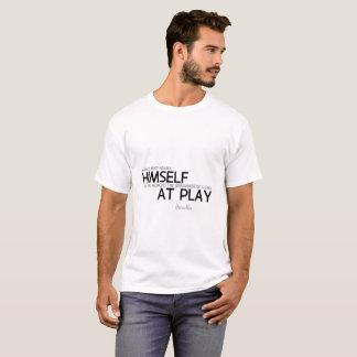 Camiseta CITAS: Heraclitus: Sí mismo, niño en el juego