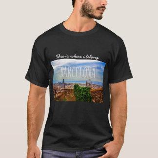Camiseta Ciudad de Barcelona