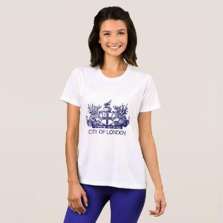 Camiseta Ciudad de Londres, vintage, escudo de armas,