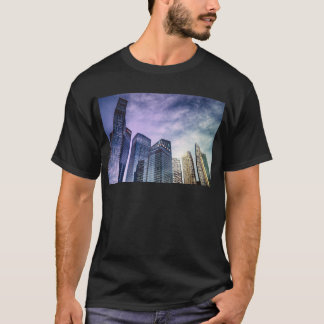 Camiseta Ciudad de Singapur