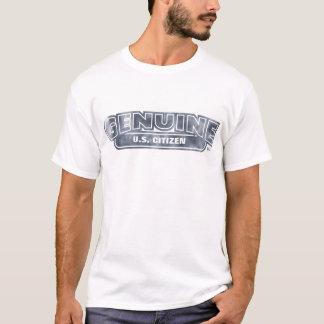 Camiseta ¡Ciudadano auténtico de los E.E.U.U. - modifiqúelo