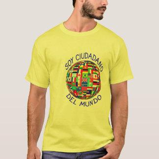 Camiseta ciudadano del mundo