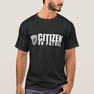 Camiseta Ciudadano en patrulla