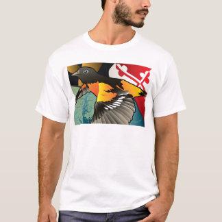 Camiseta Ciudadano Oriole, pájaro del estado de Maryland