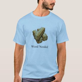 Camiseta Ciudadela - necesario de madera - azul clara