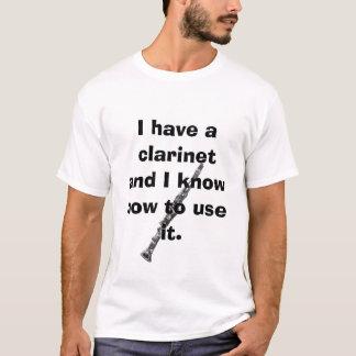 Camiseta clarinet, tengo un clarinet y sé a u…