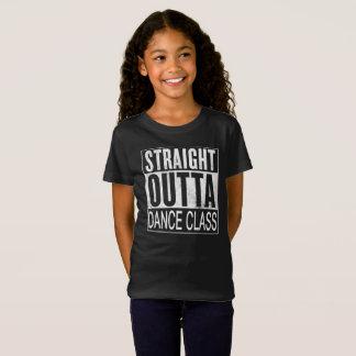 Camiseta Clase de danza recta de Outta
