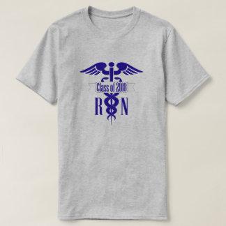 Camiseta Clase de la graduación de la escuela de enfermería