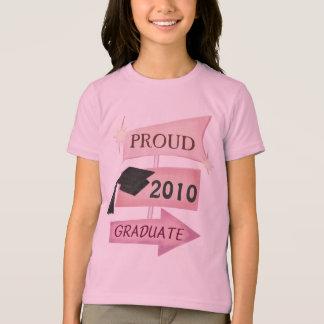 Camiseta Clase retra de la graduación del chica del año de