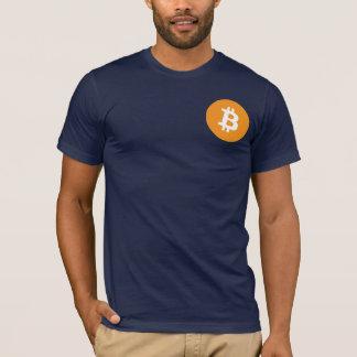 Camiseta clásica de Bitcoin de la marina de guerra