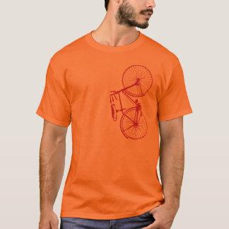 Camiseta clásica de la bicicleta de los hombres