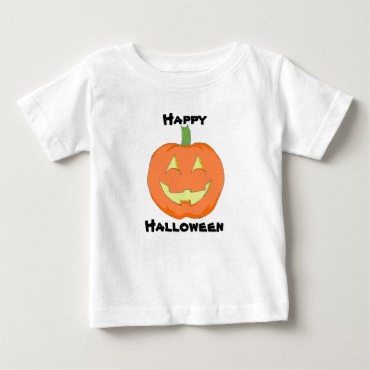 Camiseta clásica de la calabaza del bebé