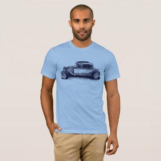 Camiseta clásica del coche de carreras
