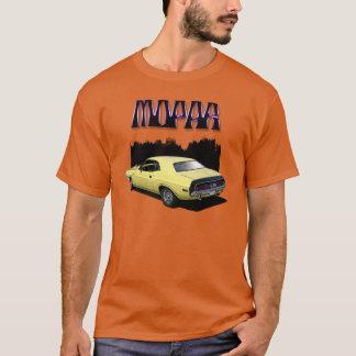 Camiseta clásica del coche del desafiador de Mopar
