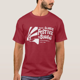 Camiseta clásica del festival 2012 de SingleFin