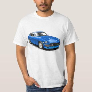 Camiseta clásica del Z-Car del vintage azul