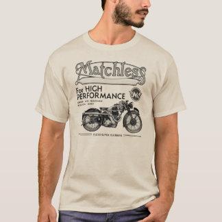 Camiseta clásica incomparable de la motocicleta