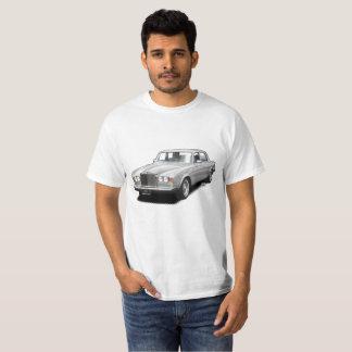 Camiseta clásica real del coche del balanceo de