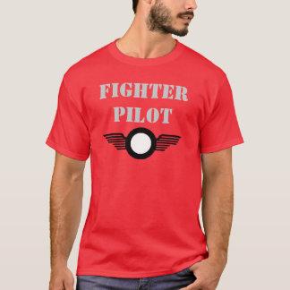 Camiseta clip_image002, piloto de caza